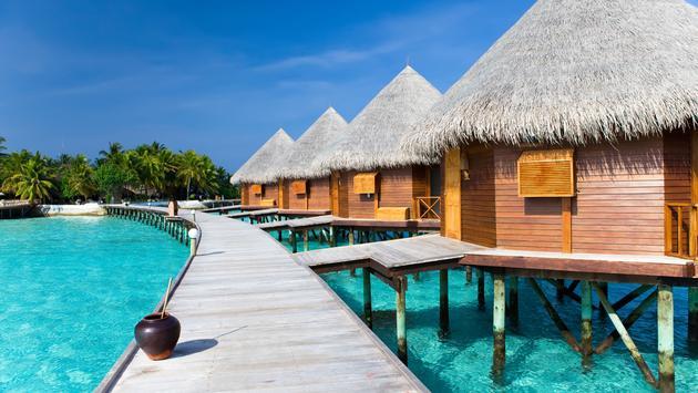 Maldives.  (photo via Konstik / iStock / Getty Images Plus)
