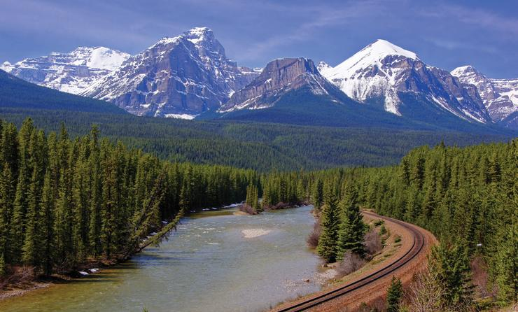 Canadian Rockies featuring Rocky Mountaineer