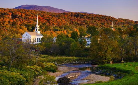 Colors of New England featuring Coastal Maine