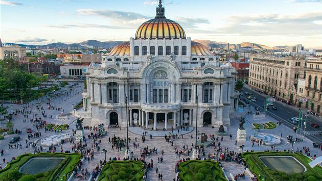 Mexico City is the capital of Mexico in North America. (photo via Nikolas Antoniou / iStock / Getty Images Plus)