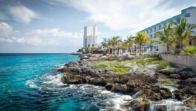 Coast of Cozumel island, Mexico (Photo via   mikolajn / iStock / Getty Images Plus)