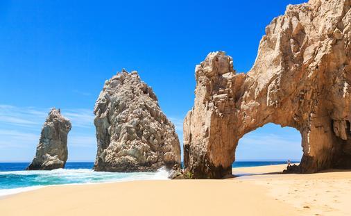 Cabo San Lucas Los Arcos, Mexico (Photo via  sorincolac / iStock / Getty Images Plus)