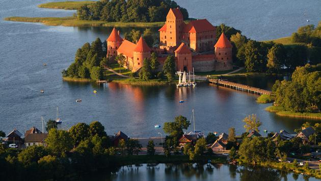 Trakai (Photo via vikau / iStock / Getty Images Plus)